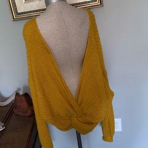 ASOS Sweaters - Mustard Knot Sweater